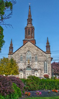 Plattsburgh  New York - St Peter's Church - Historic