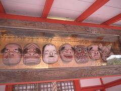 Face masks (yukky89_yamashita) Tags: kyoto shrine masks 面 京都市 車折神社 芸能神社 face