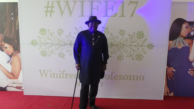 HSDickson- Attends wedding in Lagos'Becoming Mr And Mrs Oyetibo'..1st july 2017