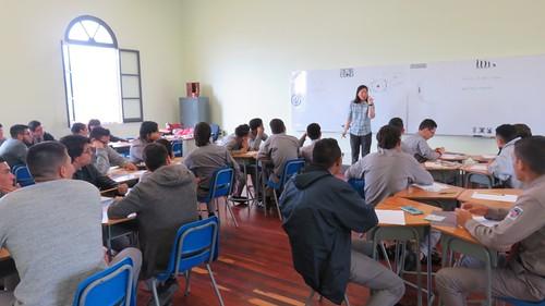 Taller pre-congreso con Julie Yu-Liceo de Costa Rica 2018