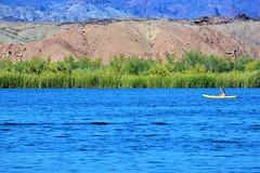 Hot days (thomasgorman1) Tags: nikon river az arizona outdoors kayak woman recreation travel mountains grass shore nature desert southwest colorado