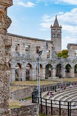 _DSC2450.jpg (matipl) Tags: interior oldtown amphitheatre hrvatska romanarchitecture pula croatia arena tower europe istriacounty hr