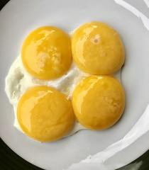 4 fried eggs (stefan aigner) Tags: austria eggs food foodporn friedegg niederndorf oesterreich österreich spiegelei tirol tyrol