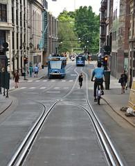 Oslo, Akersgata 13.06.2018 (The STB) Tags: oslo tram tramway strasenbahn strassenbahn öpnv publictransport citytransport trikk