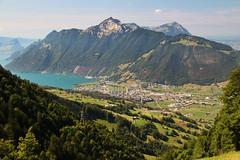 Schwyz panorama (Krzysztof D.) Tags: szwajcaria schweiz suisse svizzera svizra góry alps alpy mountains europe europa schwyz
