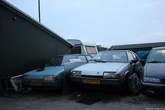 Citroën BX 16 TRS 1984 (64-RRG-9) & BX Leader 1986 (48-ZST-9) (MilanWH) Tags: citroën bx 16 trs 1984 64rrg9 leader 1986 48zst9