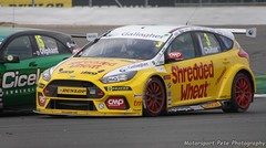Chilton Ford Focus RS British Touring Car Championship Silverstone 2018 (Motorsport Pete Photography) Tags: chilton ford focus rs british touring car championship silverstone 2018
