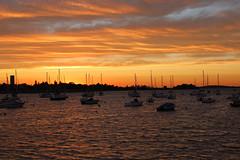 Hingham, MA Sunset (russ david) Tags: massachusetts ma sunset hingham boston landscape