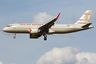 VISTARA / Airbus   A 320 NEO   F-WWIN   msn 8326