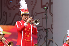 IMGL3711 (taticoma) Tags: brassband brass music musician child china red school teenage trumpet