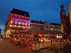 Relaxing in Venlo (katy1279) Tags: venlotourdenetherlandscyclingtownsquareeurope