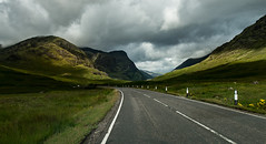 Road to Scotland (hebiflux) Tags: ifttt 500px country road dirt rural scene boulevard horizon over land hill spring mountains mountain range countryside nonurban landscape highlands scotland glencoe