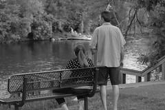 Mom and Dad: Black-and-white edition (Zach Frieben) Tags: mom dad momanddad 2018 michigan ypsilantimi northhydropark canon70300isiiusm canoneosrebelt6i