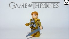 26 - Jaime Lannister (S4) - Oathbreaker (Random_Panda) Tags: lego figs fig figures figure minifigs minifig minifigures minifigure purist purists character characters films film movie movies tv show shows game of thrones hbo westeros lannister baratheon stark