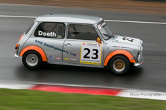 Mini Miglia - Rupert Deeth ({House} Photography) Tags: mini miglia dunlop championship old classic panning festival 2018 brands hatch uk kent fawkham canon 70d 70200 f4 indy circuit housephotography timothyhouse motorsport motor racing race sport