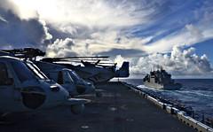 180907-N-RI884-0293 (SurfaceWarriors) Tags: usswasp sailors usswasplhd1 philippinesea japan jpn