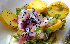 Bombay Potatoes from M&S (Tony Worrall) Tags: add tag ©2018tonyworrall images photos photograff things uk england food foodie grub eat eaten taste tasty cook cooked iatethis foodporn foodpictures picturesoffood dish dishes menu plate plated made ingrediants nice flavour foodophile x yummy make tasted meal nutritional freshtaste foodstuff cuisine nourishment nutriments provisions ration refreshment store sustenance fare foodstuffs meals snacks bites chow cookery diet eatable forsale stock buy image foodphotography buynow sale sell ms bombaypotatoes salad cream spuds deli