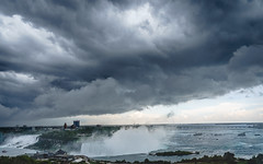 Threatening Skies over the Falls (mjhedge) Tags: niagarafalls storm clouds water sky sony sonyalpha a7riii fe1635mmf4 1635