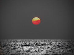 IMG_3213cw (Giorgos H) Tags: greece giorgos h landscape sun sunset cloud sea bw
