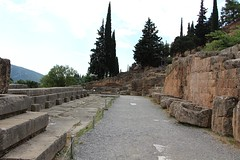 Delphi Archaeological Site (demeeschter) Tags: greece delphi archaeological heritage historical ruins unesco parnassus mount ancient oracle museum art theatre stadium temple apollo