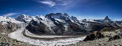 Gornergrat, Zermatt, Suiza (por agustinruizmorilla) Tags: snowcapped mountain range peak ridge hill avalanche valley alpine pass extreme terrain agustinruizmorilla
