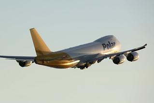 N857GT, Boeing 747-8F, Polar Air Cargo, Hong Kong