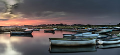 Night and Day (andybam1955) Tags: panoramic landscape dawn morston clouds coastal morstonquay sky northnorfolk rural boats norfolk sea