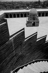 Black and white (Ghada Elchazly) Tags: egypt cairo oldcairo old mosques everydayphoto texture arts photo photography photostream photos history ilovephotography islamicarchitecture islamic islamicart nikon oldish ahmedibntolon blackandwhite wikipedia wikilovesmonements prizedphoto