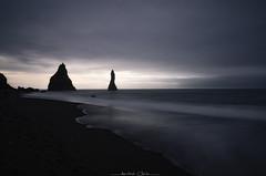 Happy World Photography Day (_Amritash_) Tags: worldphotographyday2018 seascape blackbeach reynisfjara sunrise firstlight iceland travel longexposure longexposurejunkie