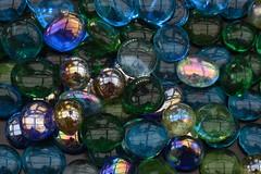Multicolour (rq uk) Tags: rquk nikon d750 nikond750 afsvrmicronikkor105mmf28gifed multicolour multicolor glass beads reflections blue green macromondays