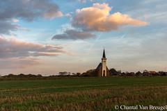 Kerkje Den Hoorn (Chantal van Breugel) Tags: landschap texel zonsondergang denhoorn kerkje oktober 2017 canon5dmark111 canon1635