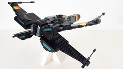 T-88 X Wing Fighter [MOC] (Evilkirk) Tags: lego starwars moc fighter t88 xwing ewing