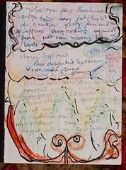 tickertape fans BeehiveDSC01259 (fflap2) Tags: art writing poem tickertape beehive viginiawoolf