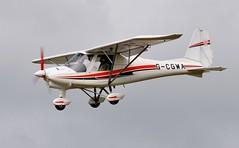 G-CGWA (goweravig) Tags: gcgwa ikarus c42 fb80 bravo swansea wales uk swanseaairport resident aircraft