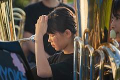 wind orchestra girl #9 (kasa51) Tags: schoolgirl windorchestra summerfestival portrait ブラバン少女 people street