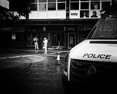 Murder scene (JEFF CARR IMAGES) Tags: marketplace northwestengland streetlife ashtonunderlyne