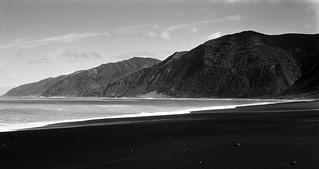 Black Sands of Wharekauhau