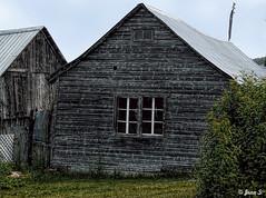 Un dimanche à la campagne (Jean S..) Tags: wood old outdoors window grass rural shed