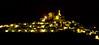 La noche de Ujue (pascual 53) Tags: largaexpo ujue navarra canon 7d 70200mm nochedefiestas iglesiafortaleza