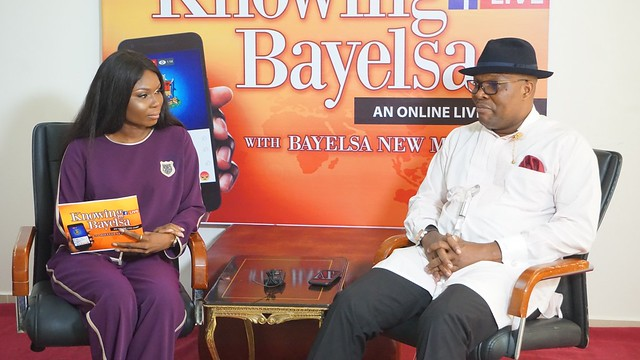 HSDickson - Commissioner for Information and Orientation At the ongoing Knowing Bayelsa program. 15th August 2018