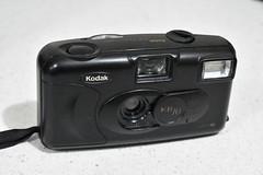 Kodak KB10 camera (Matthew Paul Argall (Digital/Misc)) Tags: kodakkb10 kodak eastmankodak camera retro filmcamera compactcamera blackcamera plasticcamera 1997 1990s
