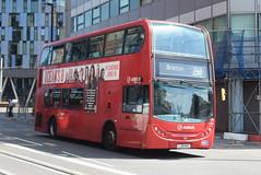 AL T123 @ West Croydon bus station (ianjpoole) Tags: arriva london alexander dennis enviro 400 lj10hvc t123 working route 250 park street croydon brixton station