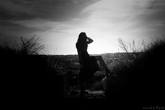 Horizonte inexplorado/ Unexplored horizon (Luis DLF) Tags: miriamramirez canon blancoynegro black white 70d salamanca aldeadelosobispos fuertedelaconcepción sxvii europa españa
