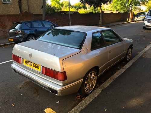 Abandoned and neglected 😢 rare exotic 1994 Maserati Ghibli Cup 2Litre V6 Twin Turbo & 6Speed Manual gearbox 😢