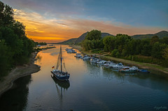 Sunset (dipphotos) Tags: rhine germany sunset sky river afternoon colours boats
