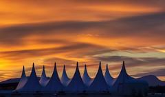 Meringue Skies (Clayton Perry Photoworks) Tags: vancouver bc canada summer explorebc explorecanada skyline sunset sky canadaplace sails clouds
