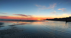 East Wittering sunset (pixeljunkie71) Tags: surfer sunset wittering