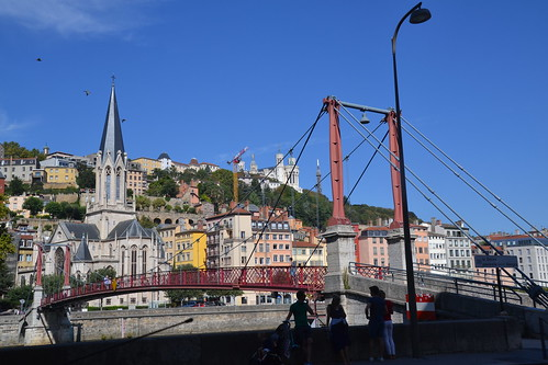 Lyon quais de Saône