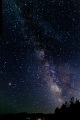 Mars and the Milky Way (aaronrhawkins) Tags: milkyway night sky mars stars camp camping aspenlakes hebercity utah dark galaxy universe longexposure evening aaronhawkins planet