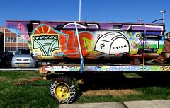 graffiti in amsterdam (wojofoto) Tags: amsterdam nederland netherland holland graffiti streetart wojofoto wolfgangjosten ndsm